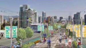 Report suggests cutting number of car lanes on Granville Bridge