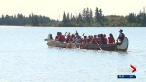 Refugees try camping in national park east of Edmonton