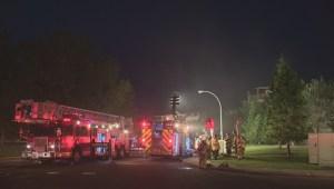 Fire forces dozens out of south Edmonton apartment building