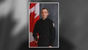 Hundreds pay tribute to Alberta police officers killed in the line of duty