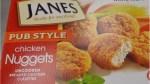 Janes Pub Style Chicken Nuggets recalled