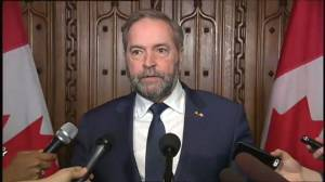 Tom Mulcair says Liberals broke several promises with 2016 federal budget