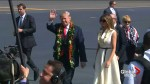 U.S. President Trump arrives in Hawaii as he gets set for first leg of Asia trip