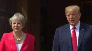 Trump's barbed comments upset British hosts