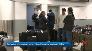 Sunwing passengers still without luggage
