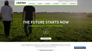 Two largest potash companies in Saskatchewan merge into Nutrien