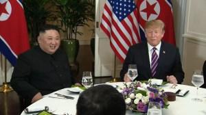 Trump, Kim Jong Un share dinner in Vietnam during 2nd summit