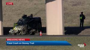 Driver killed in Stoney Trail rollover