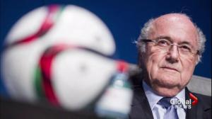 Sepp Blatter stands down as FIFA president as corruption scandal grows