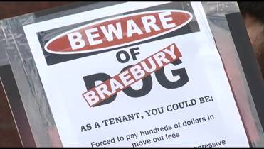 Former tenants protest 'move out' fees charged by Kingston