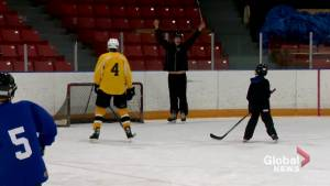 Blind hockey is making Canada's popular game more accessible