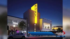 Roxy Theatre to return to Edmonton's 124 Street