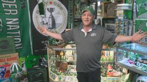 Fan's Roughrider collection growing in size and popularity