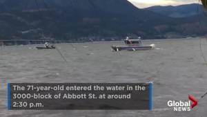 Searchers take to Okanagan Lake looking for missing kayaker
