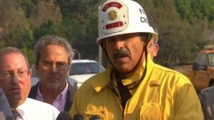 Los Angeles fire chief asks public to monitor media reports
