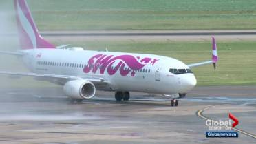 Hundreds of passengers stranded after Swoop cancels or delays nearly