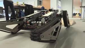 Queen's U. Engineering students visit Global News Morning with an innovative new robot