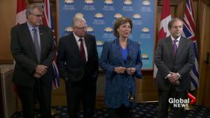 Christy Clark optimistic about U.S. softwood lumber deal