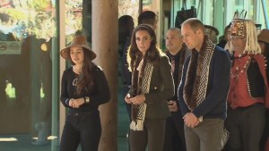 Prince William and Kate take in cultural events, visit hospital in Haida Gwaii