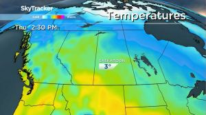 Saskatoon weather outlook above seasonal temperatures round off work week