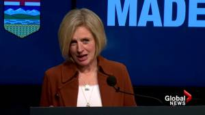 Alberta Premier Rachel Notley says Trans Mountain pipeline expansion will help bring Canadian oil to market