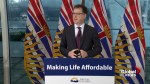 Adrian Dix on eliminating medical services premiums: 'The budget is balanced'