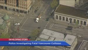 Pedestrian fatal shuts down Main and Hastings