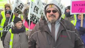 Montreal school bus drivers strike