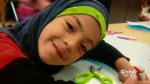 Syrian family mourning 9-year-old daughter who died by suicide