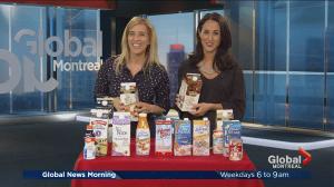 The health benefits of plant-based milk alternatives