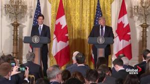 President Trump says America is grateful to have a neighbour like Canada