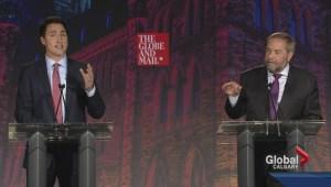 Did bickering turn voters off during leaders' debate