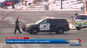 1 dead, 1 injured after vehicle collision in northwest Calgary