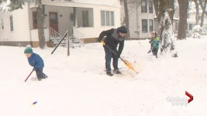 Late winter storm hits New Brunswick