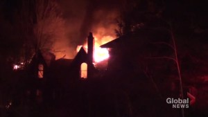 Fire destroys historic home in Roseneath