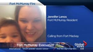Former BC resident on mass panic leaving Fort McMurray during evacuations (05:53)