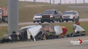 Speed believed a factor in fatal Deerfoot Trail crash: Calgary police