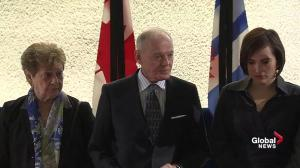 Doug Holyday, former Toronto deputy mayor, mourns Rob Ford