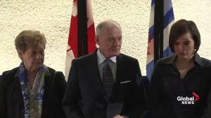 Doug Holyday, former Toronto deputy mayor, mourns Rob Ford