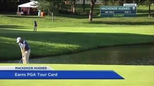 Mackenzie Hughes Earns his PGA Tour Card