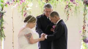 Homeless Florida couple marries after community rallies together