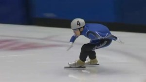 Upcoming Olympic Games inspire Maritime speed skaters