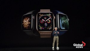 Apple unveils health-oriented watch and iPhone XS
