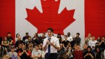 'Peoplekind': Trudeau corrects woman who said 'mankind' during Edmonton town hall