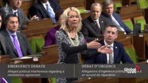 House Leader vehemently disagrees with Liberal characterization of Raybould-Wilson testimony