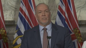 John Horgan announces Site C decision