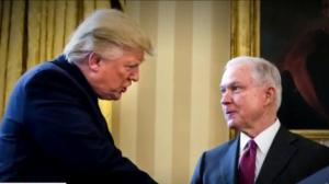 Trump fuels speculation about possibly firing U.S. attorney general