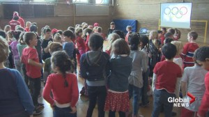 Willingdon Elementary hosts its own Olympic opening ceremonies