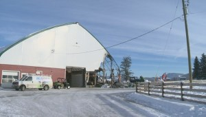 Lumby area farm feeling lucky barn fire was contained