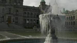 Sub-zero temperatures set in as B.C. hit with winter blast